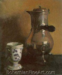 Albert Marquet, La Cafetiere Fine Art Reproduction Oil Painting