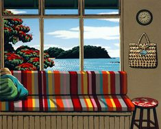 Matapouri Window - Tony Ogle