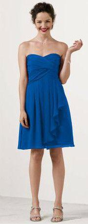Bridesmaids Dress- Horizon Blue!!! - Our Wedding - Pinterest ...