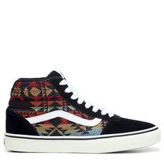 Vans Men's Ward High Top Sneakers (Native Print)
