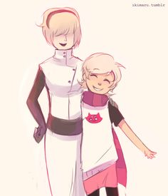 Rose+Mom and Roxy+Mom (art by ikimaru)