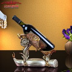 Find More Figurines & Miniatures Information about 2016 Rushed European Wine Racks Are Resin Wedding Gift Accessories Lotus Rack Home Furnishing Practical New Year Decoration ,High Quality decorative decorative,China decor new year Suppliers, Cheap decorative home decor from Wooden box / crafts Store on Aliexpress.com