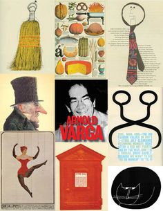 Famous Art Director Series 11. Arnold Varga. Herb Lubalin, Famous Art, Big Fashion, Art Director, Cool Stuff, Design