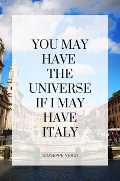 Italy travel quotes that will make you want to go right now