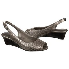 Trotters Mimi Sandals (Pewter) - Women's Sandals - 12.0 2W