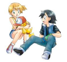 Pokeshipping ^.^ ♡ I give good credit to whoever made this I found this in ash-and-misty.tumblr.com Pokemon Ash And Misty, Manga Comics, Walt Disney, Disneyland, Animation, Cosplay, Cute, Fictional Characters, Anime Stuff