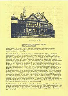 Salford History: Knoll House, Salford