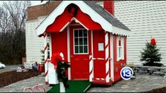 ♡Santa's House Defiance, Ohio♡
