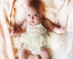 0956e230bc3 Kryssi Kouture Ivory Emma Lace Romper Kids Shop