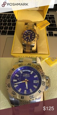 NEW Invicta men's watch New. Retail $325. Make a nice gift Invicta Accessories Watches