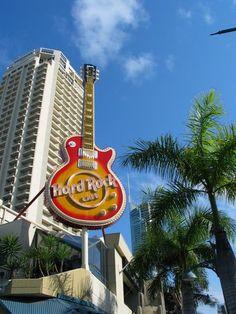 Hard Rock Cafe in  brisbane, australia