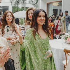 How to wear - 17 Brides Who Wore the Prettiest Suits for their Wedding Ceremonies Indian Bridal Wear, Indian Wedding Outfits, Indian Wear, Indian Outfits, Indian Clothes, Indian Style, Pakistani Dresses, Indian Dresses, Pakistani Suits
