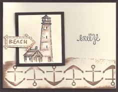 Lighthouse-AI, Sentiment-Amuse Studio Anchor Border Cuttlebug