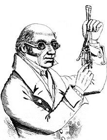 Dr Robert Knox, the surgeon implicated in the murders. The press and public deemed him guilty by association.