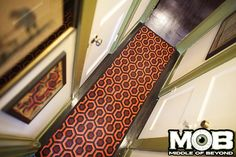The Shining Hotel Runner Rug by Middle of Beyond. #theshining #stanleykubrick #stephenking
