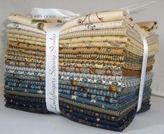 I found Jo Morton FQ Bundle (Creams and Blues) *NEW* at Gail ... : ladyfingers quilt shop - Adamdwight.com