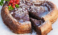 Nydelig konfektkake fri for sukker, gluten og nøtter - Lev med diabetes. Slider Images, Lchf, Diabetes, Sliders, French Toast, Snacks, Baking, Breakfast, Desserts