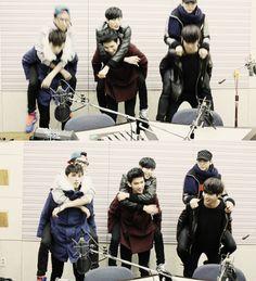 N,Ken,Leo,Hyuk,Hongbin,Ravi ♡ #VIXX PIGGYBACK // 89.1 KBS COOL FM