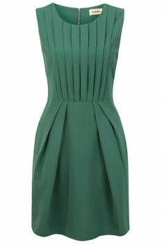 Green Pleat Renn Sleeveless Dress by Louche Featuring pleated fabric and a bold jewel tone, it instantly amps up the glam factor of any evening.Shop our huge range of in fashion Louche Dresses. Pretty Dresses, Beautiful Dresses, Jw Mode, Mode Style, Mode Inspiration, Work Fashion, Dress Me Up, Green Dress, Dress Patterns