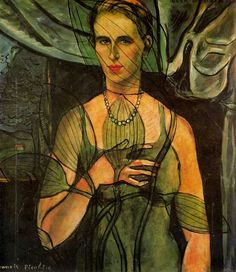 Portrait  of Olga, by Francis Picabia (French, 1879-1953)