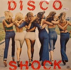 Disco Shock(1970s)  Shocking booty action!