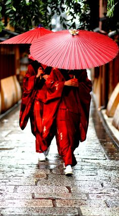 Traditional Kimono dress women in Japan