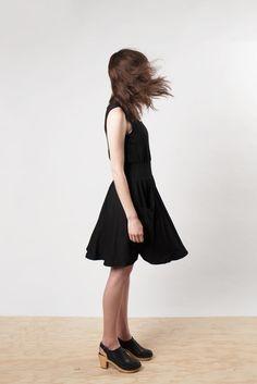 Orchard Black Summer Dress