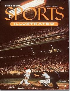 August 16, 1954 – The first issue of Sports Illustrated is published.