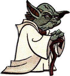 39012-Star-Wars-Standing-Yoda-Jedi-Skywalker-Sew-Badge-Cut-Out-Iron-On-Patch