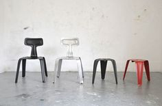 Industrial Flat Chairs