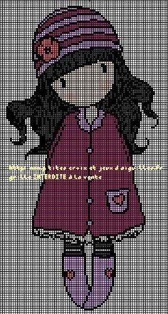 g2 Kawaii Cross Stitch, Cross Stitch For Kids, Cross Stitch Charts, Cross Stitch Patterns, Cross Stitching, Cross Stitch Embroidery, Embroidery Patterns, Hama Beads, Graph Crochet