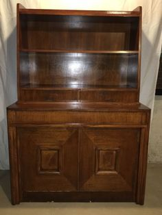 Saginaw Furniture Telescoping Buffet Table With Hutch