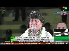 Bolivian President threatens to close US embassy   (I'd do it!)       -------      http://www.youtube.com/watch?v=qGCCZw4eWcY