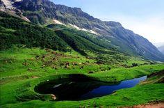 Ansoo Lake, Kaghan Valley, Khyber Pakhtunkhwa, Pakistan