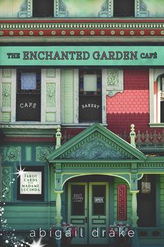 ~ Cover Reveal ~ The Enchanted Garden Cafe by Abigail Drake Paranormal Romance
