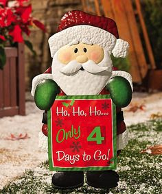Spread Christmas cheer throughout the neighborhood by decorating the front lawn with this festive garden stake. The charming design is sure to make even the biggest grinch's heart grow three sizes. 13.5'' W x 28'' H x 1.5'' DMetalImported