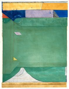 "The Achenbach Foundation for Graphic Arts (AFGA)  Diebenkorn ""Green"""