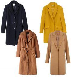Manteau long : sélection shopping Automne Hiver 2015 - 2016