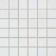 2 X 2 Honed Thassos White Marble Mosaic Tile Marble Mosaic Tiles Stone Mosaic Tile Mosaic Tiles
