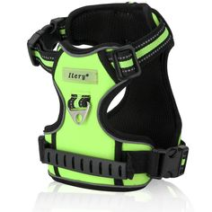 Dog Harness, Itery Adjustbale Non Pull Pet Harness Soft Vest Padded Dog Body Harness with Handle and Reflective Stitching >>> You can get additional details at the image link.