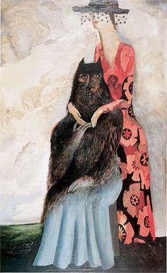 Maria Anto Autoportret podwójny, 1993 r.