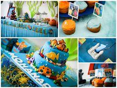 Fraldas & Rabiscos: festa de aniversário