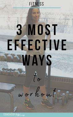 The 3 MOST effective ways to workout at the gym as a beginner
