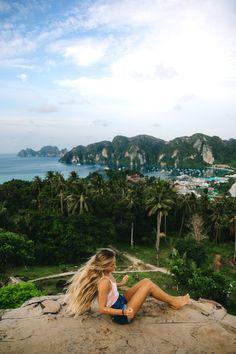 thailand travel guide phuket krabi phi phi island southeast asia thai beach mountain hike couple wanderlust inspiration photography