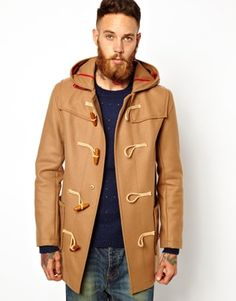 Gloverall Duffle Coat in Melton Wool at asos.com 92493f5219e