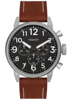 Tsovet JPT-TS44 Chrono Brown/Black