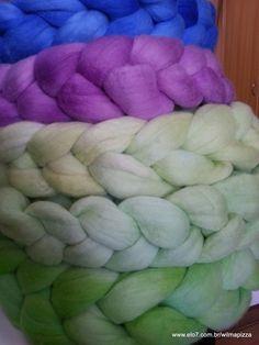 tranças coloridas