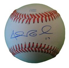 Adam Rosales Autographed ROLB Baseball, Oakland Athletics, Cincinnati Reds, Proof Photo by Southwestconnection-Memorabilia. $39.99. This is a Adam Rosales autographed Rawlings official league baseball. Adam signed the ball in blue ballpoint pen. Check out the photo of Adam signing for us. Proof photo is included for free with purchase. Please click on images to enlarge. 1