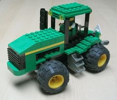 Farm tractor: A LEGO® creation by Pierre Normandin : MOCpages.com