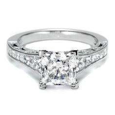The Modern Tacori Princess cut ring. Looks so much like mine.